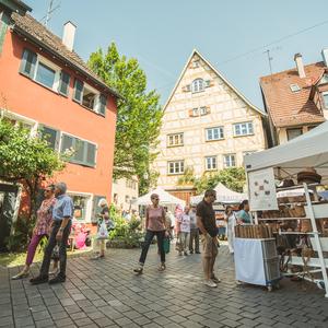 Bild Schorndorfer Rosenmarkt