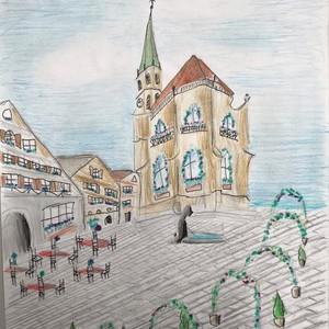 Bild Ausstellung Malwettbewerb 2019 Sarah Hägele