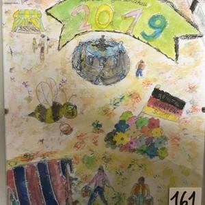 Bild Ausstellung Malwettbewerb 2019 Liron Baum