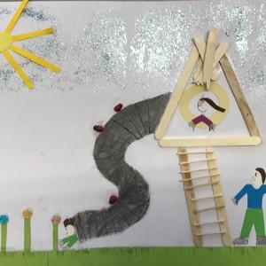 Bild Ausstellung Malwettbewerb 2019 Elias Scheufele