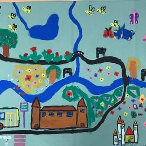 Bild Ausstellung Malwettbewerb 2019 Kindergarten Stadthaus
