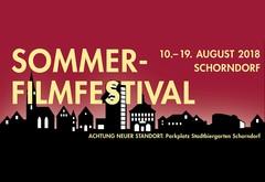 News Sommerfilmfestival 2018 zieht um