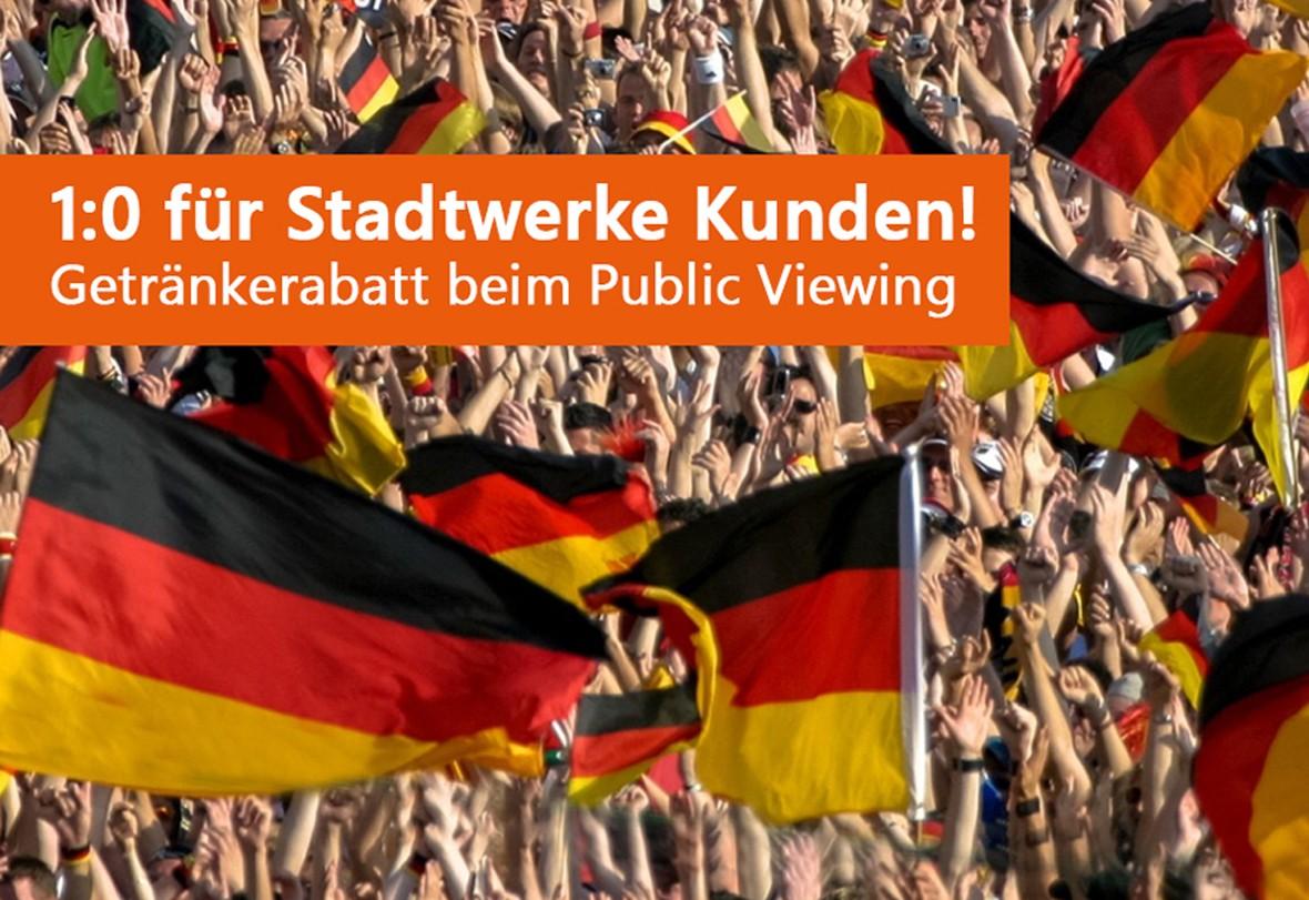 Stadtwerke Schorndorf und Platzhirsch kooperieren zur Fußball WM