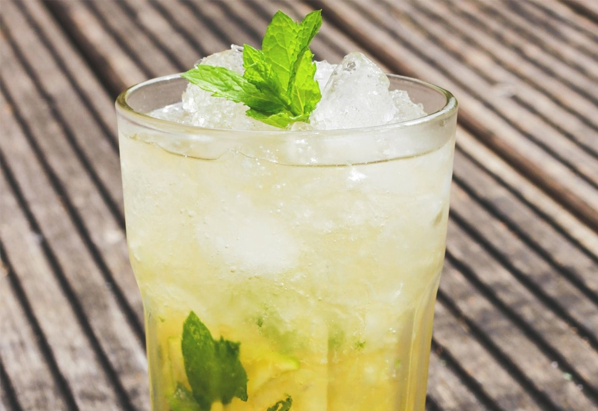 Cocktail zur Mitternachtssauna gratis
