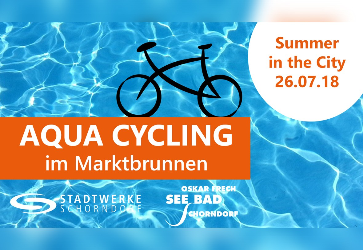 Aqua Cycling im Marktbrunnen