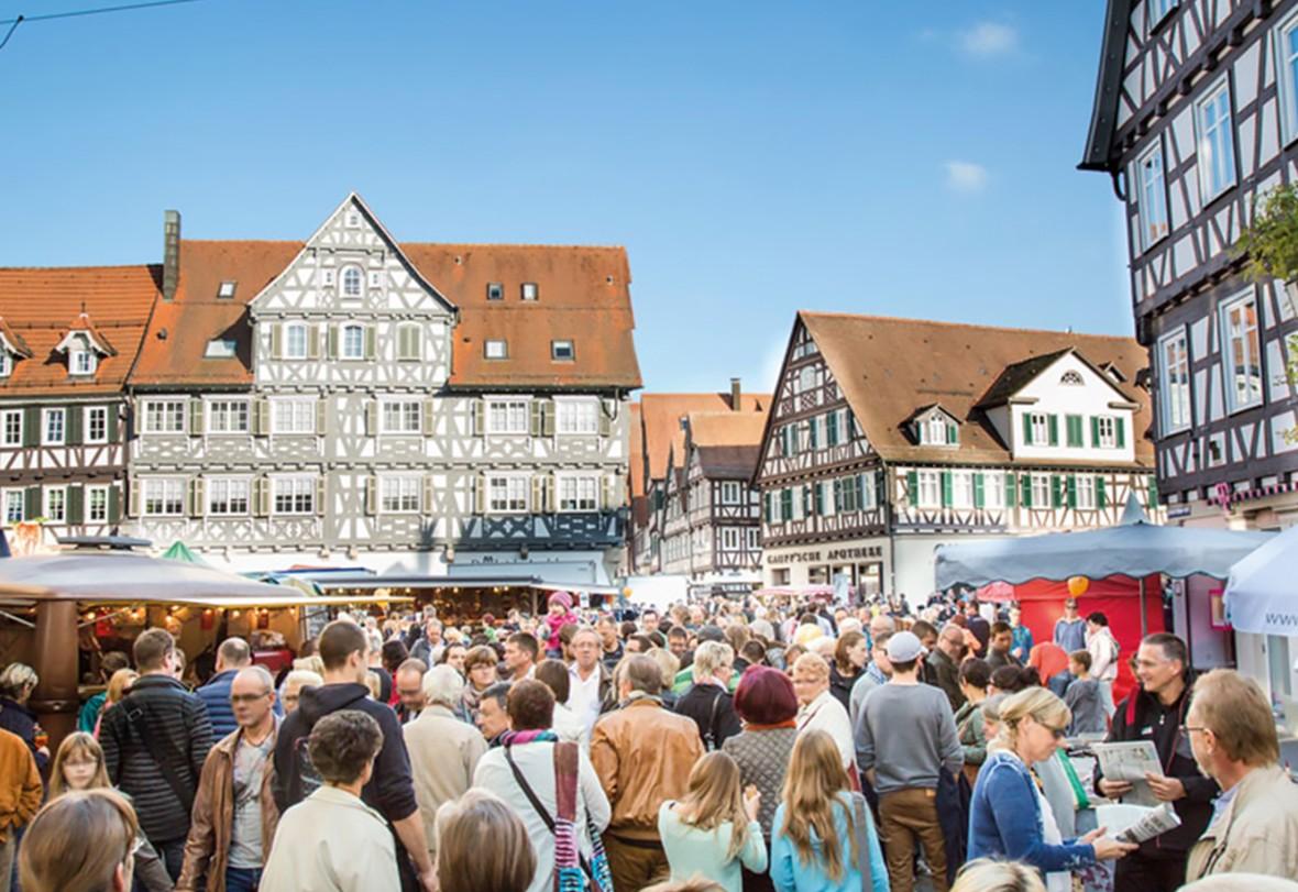 Stadtmarkt am 28. Oktober 2018