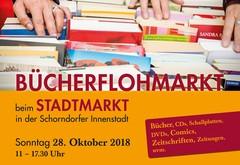 Bücherflohmarkt beim Stadtmarkt