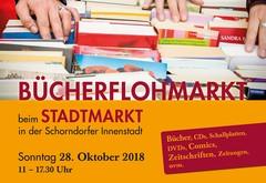 Freie Plätze auf dem Bücherflohmarkt