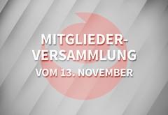Mitgliederversammlung von SchorndorfCentro