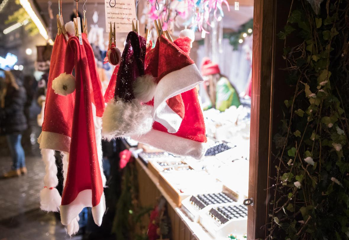 Hütte auf der Weihnachtswelt zu vergeben