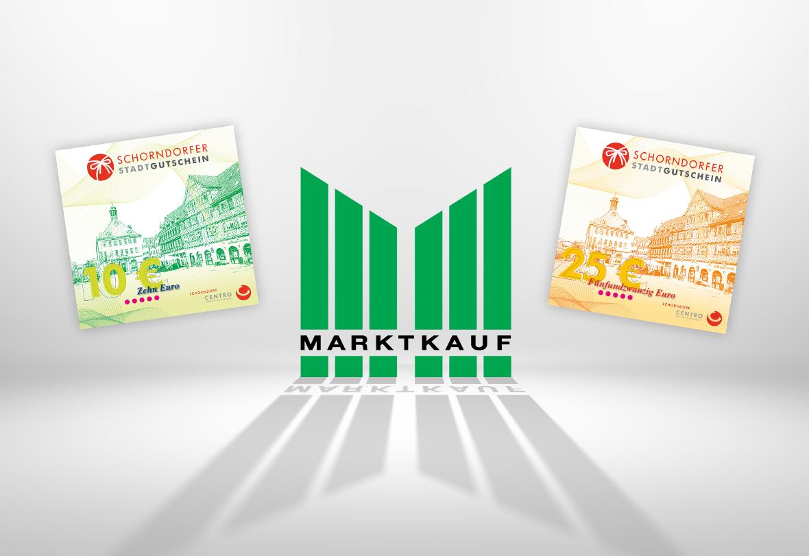 Neu beim Stadtgutschein: Marktkauf Schorndorf