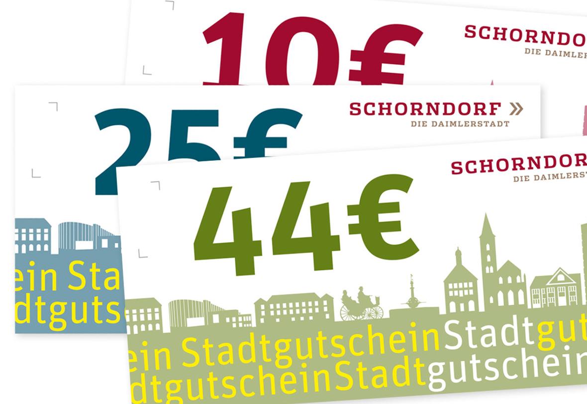 Schorndorfer Stadtgutschein
