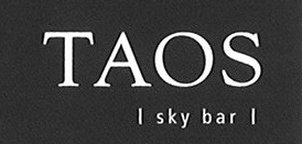 Logo TAOS Skybar