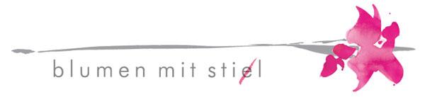 Logo Blumen mit Sti(e)l