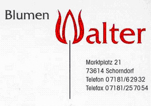 Logo Blumen Walter