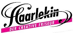Logo Haarlekin der creative Friseur