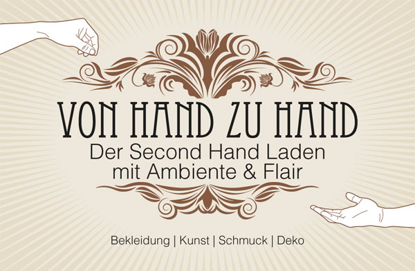 Logo Von Hand zu Hand - Der Second Hand Laden