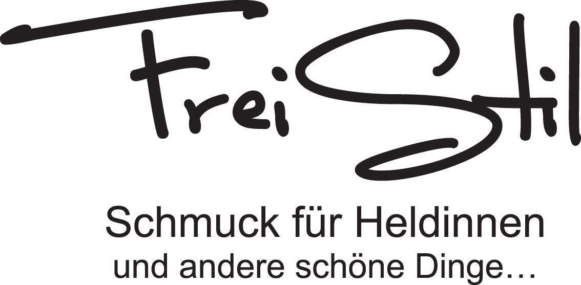 Logo FreiStil Schmuck für Heldinnen...