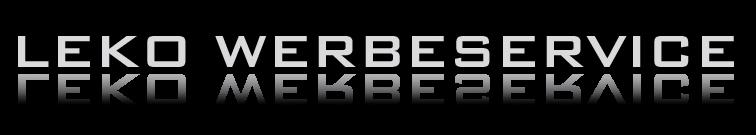 Logo LEKO Werbeservice