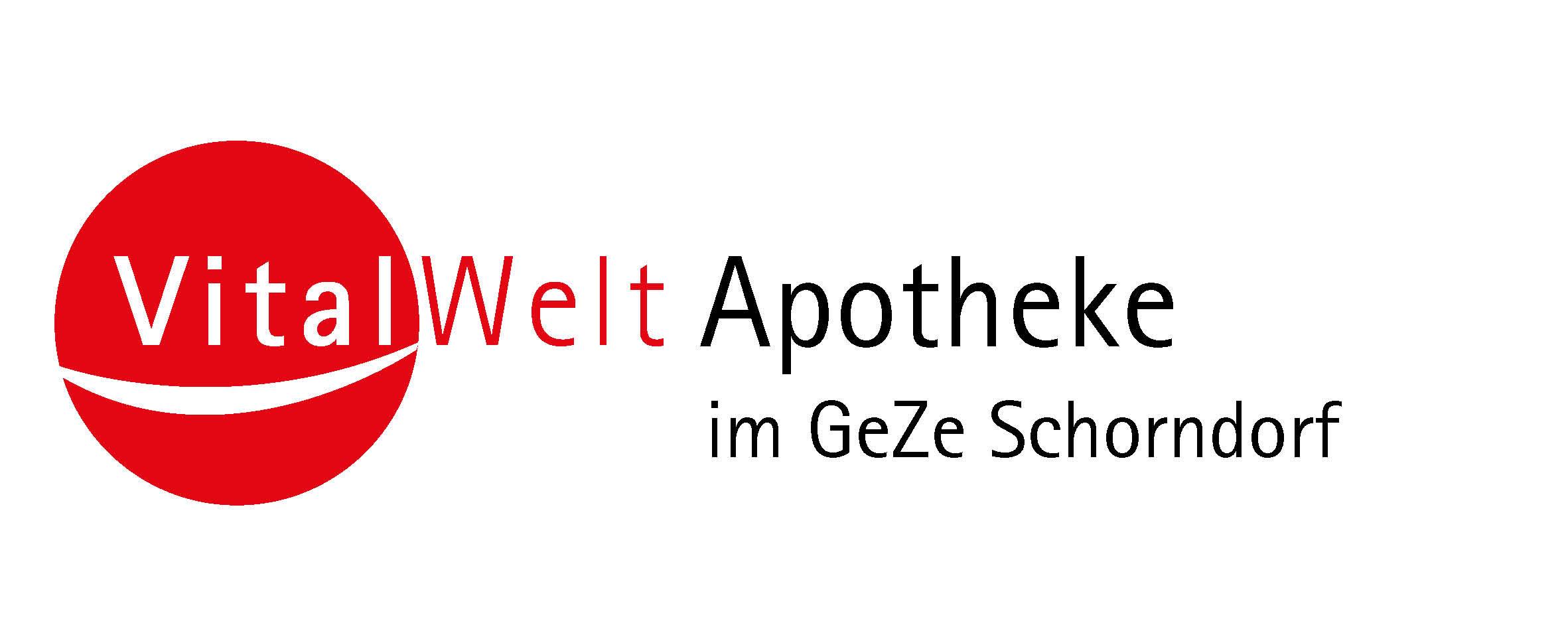 Logo Vitalwelt-Apotheke im GeZe Schorndorf