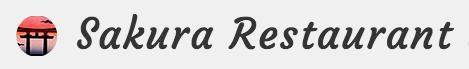 Logo Sakura Restaurant