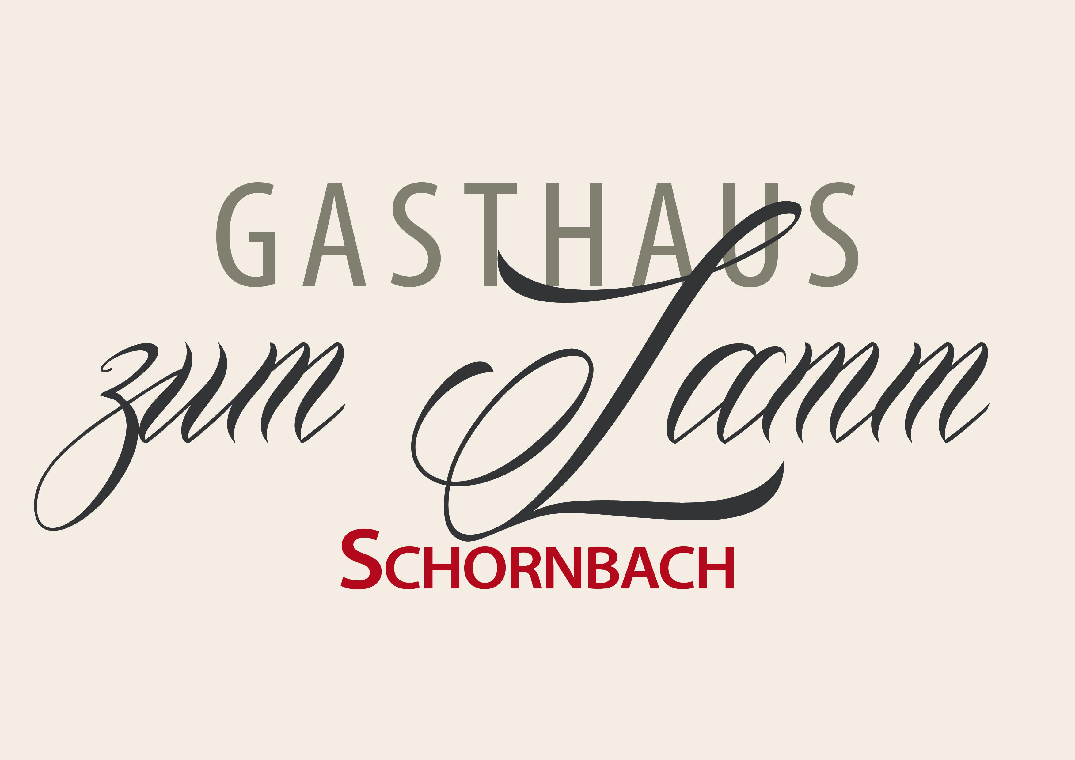 Logo Gasthaus Zum Lamm