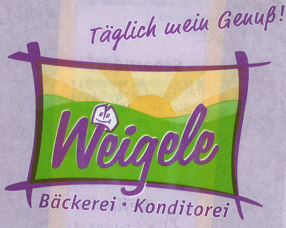 Logo Bäckerei Weigele