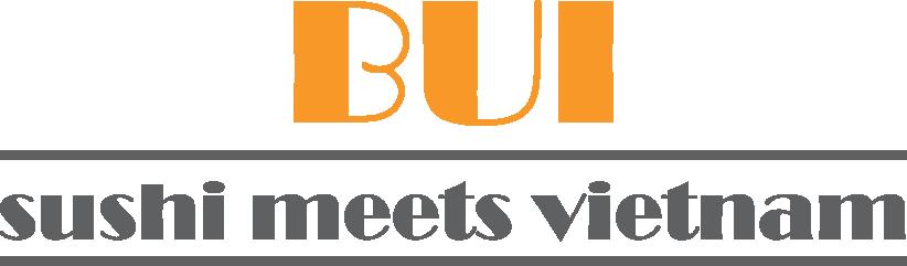 Logo BUI sushi meets vietnam