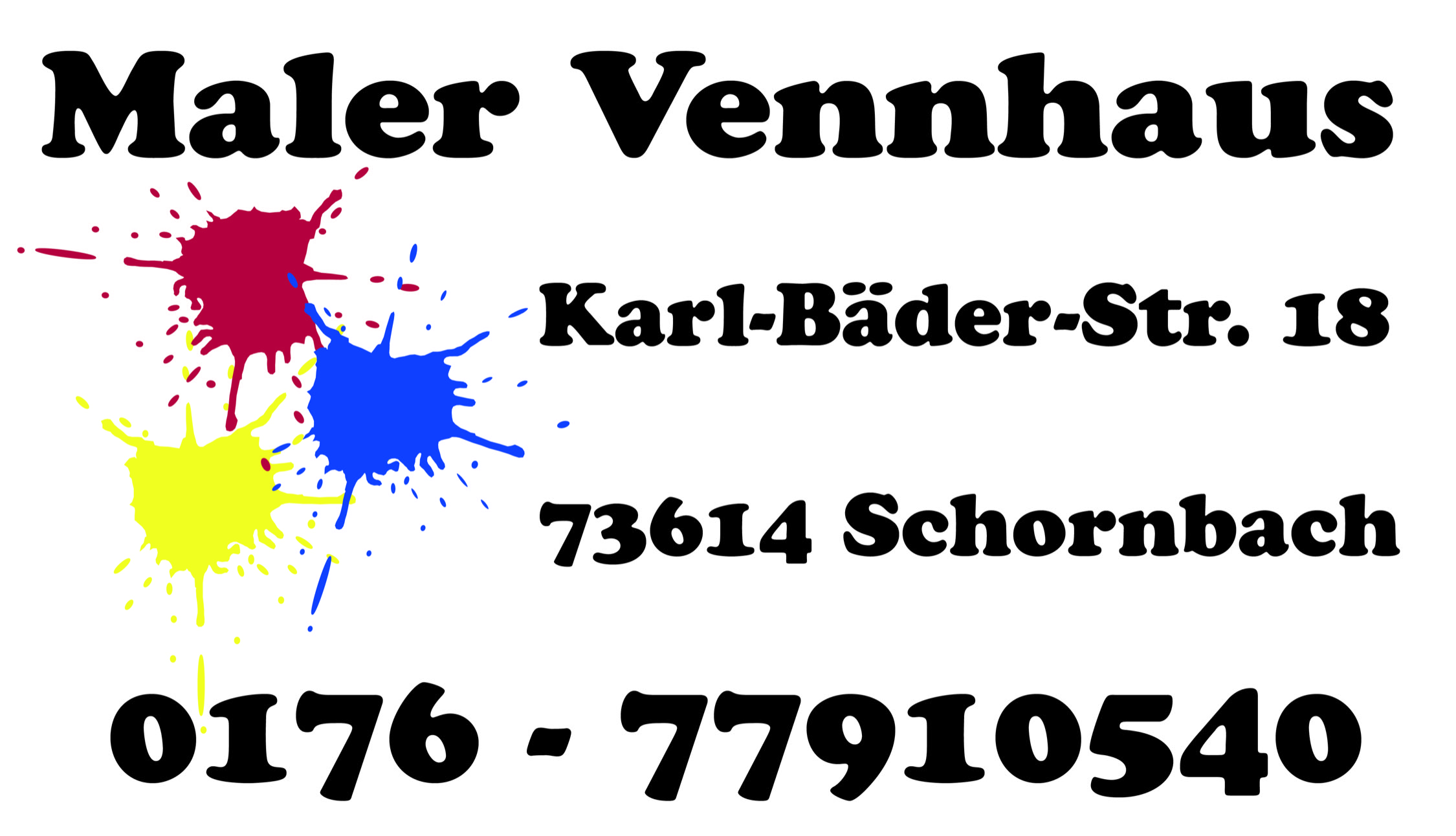 Logo Maler Vennhaus