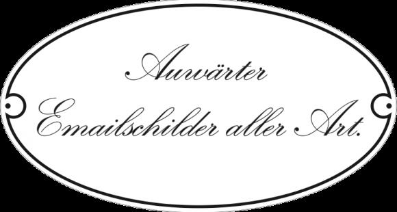 Logo Auwärter Emailschilder aller Art