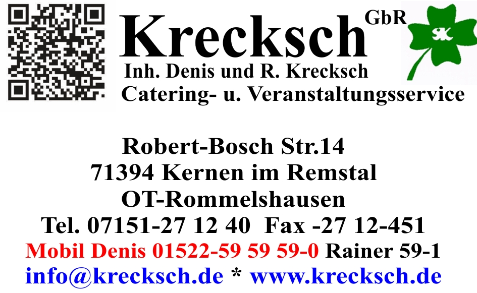 Logo Catering- und Veranstaltungsservice Krecksch GbR
