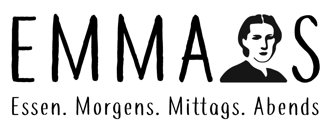 Logo EMMAS – Essen. Morgens. Mittags. Abends.