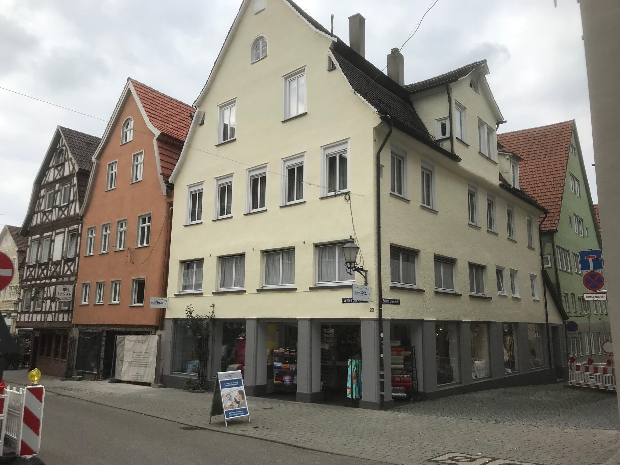 Ladenfront Betten-Veil e. K.